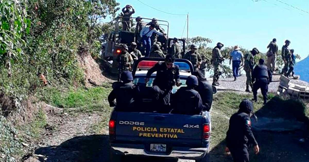 SSyPC refuerza vigilancia ante el retorno a sus comunidades de origen de habitantes de Chalchihuitán