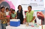 En Chiapas se aplicarán 711 mil vacunas durante la Primera Semana Nacional de Salud