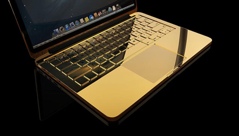 ¿Un Macbook hecho de oro?