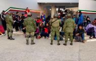 Aseguran a 198 indocumentados centroamericanos en Tamaulipas