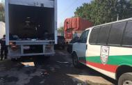 PF rescata a 137 migrantes que viajaban en tráiler