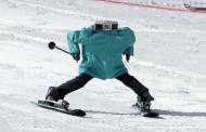Sorprenden robots esquiadores en Juegos Olímpicos de Pyeongchang