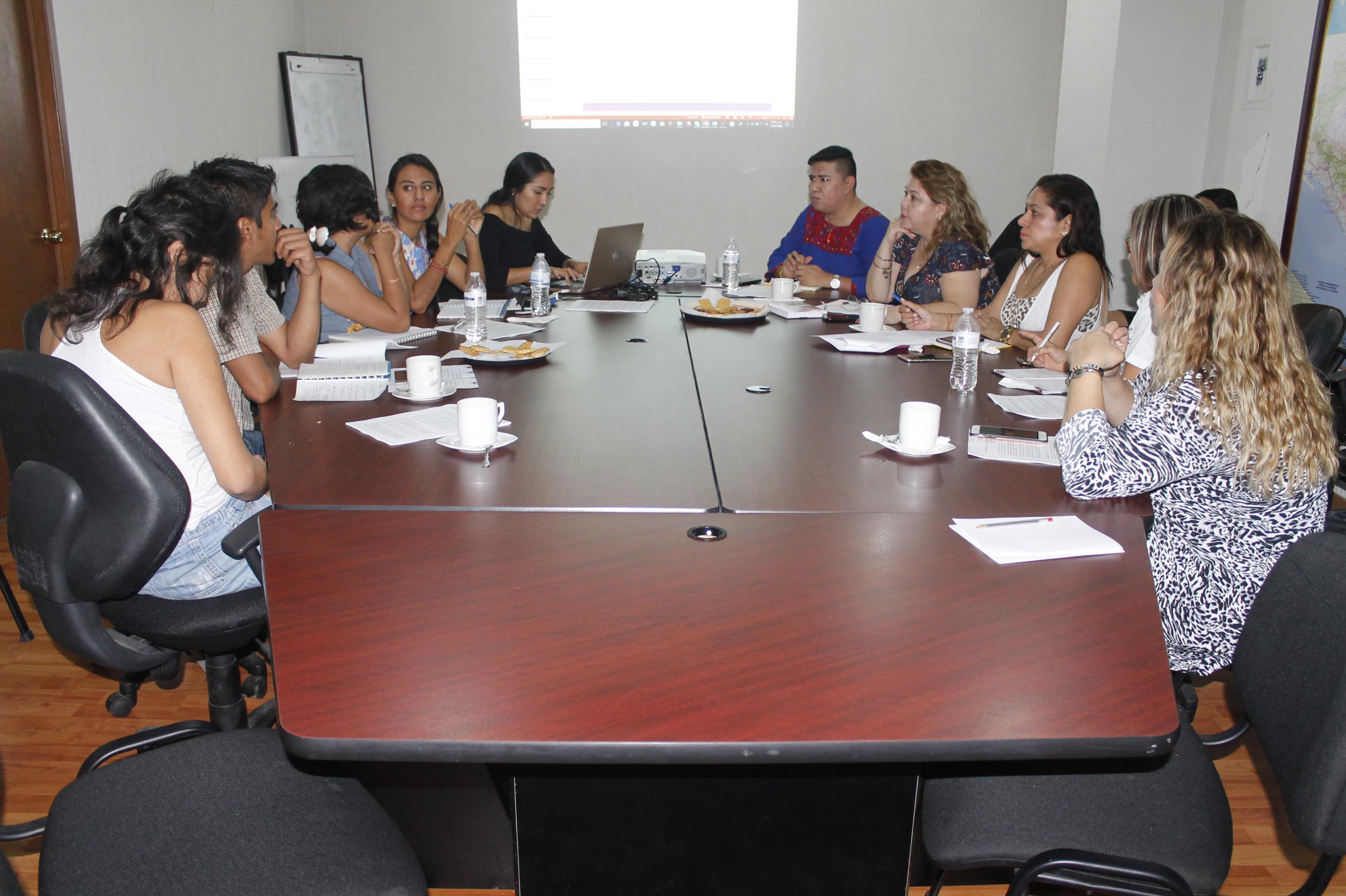 La CEDH y organizaciones civiles en pro de la juventud