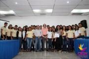 La CEDH se congratula con la visita de jóvenes preparatorianos