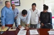 Entrega INE Chiapas listado nominal a representantes de partidos políticos para su revisión