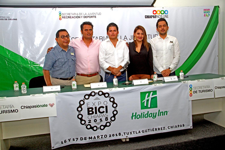"""Presentan  """"Expo Bici Chiapas"""" 2018"""