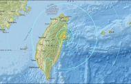 Reportan daños en viviendas tras terremoto en Taiwán
