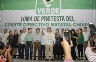 Eduardo Zenteno Núñez, nuevo secretario general del PVEM en Chiapas