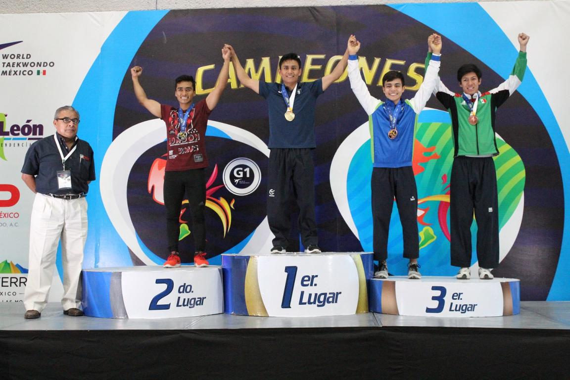 """Chiapas destaca en el """"México Open"""" de Taekwondo"""