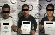 A disposición de la PGR tres personas, por el delito de transporte de indocumentados