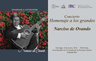 """Invita Fernando Castellanos al concierto """"Homenaje a los Grandes"""