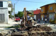 Concluye SMAPA obra de rehabilitación de drenaje sanitario en Barrio San Francisco
