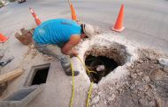Concluye SMAPA reparación de fuga de agua en Colonia La Salle