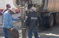 Realiza SMAPA desazolve de drenajes sanitarios en Tuxtla