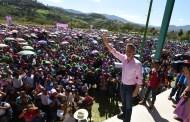 En Chilón, beneficia Velasco a mujeres con Bienestar Salario Rosa