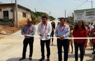 Entrega SOPyC nueva vialidad para Cintalapa