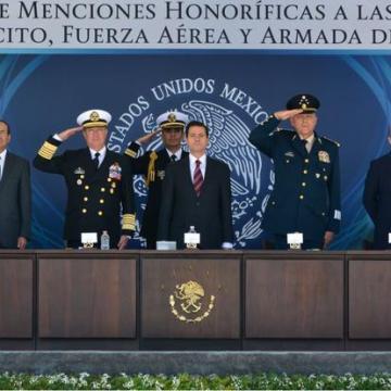 'Presencia de Fuerzas Armadas seguirá donde sea necesario': Peña Nieto
