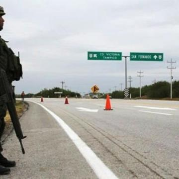 Refuerzan seguridad en carreteras de Tamaulipas ante ola de violencia