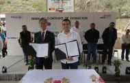 Firman Chiapas y Japón contrato de donación para reconstrucción de escuela en Villaflores