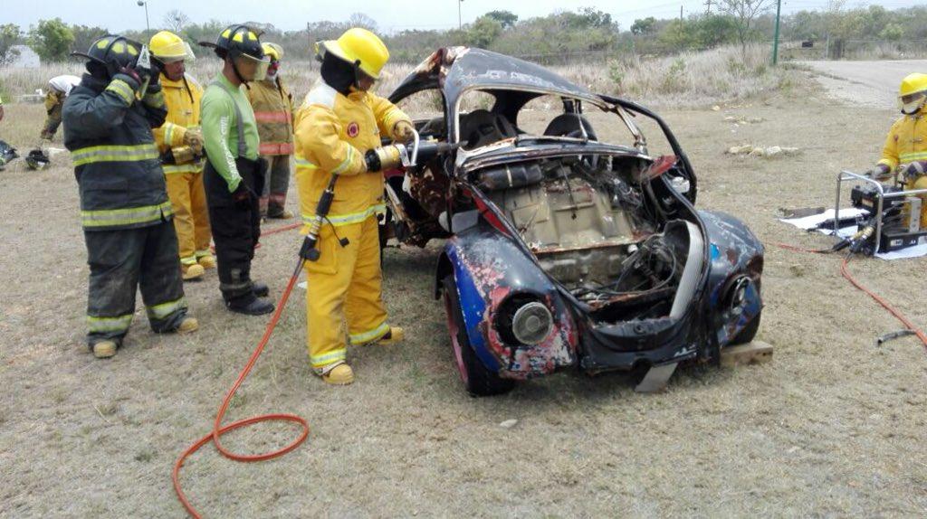 Se lleva a cabo ciclo de cursos para la atención a emergencias en la Escuela Nacional de Protección Civil Campus Chiapas