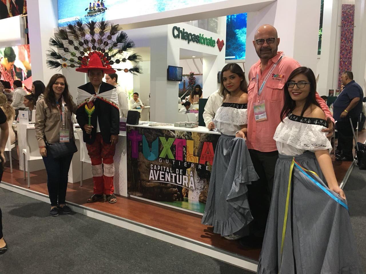 Presente Tuxtla en el Tianguis Turístico de Mazatlán 2018
