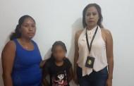Rescata FGE a una menor migrante desaparecida en Guatemala