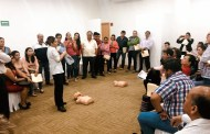 SS capacita a odontólogos en reanimación cardiopulmonar
