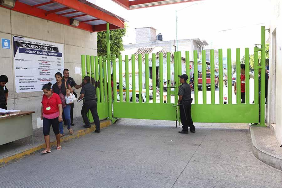 Establece hospital Pascacio Gamboa  nuevo reglamento para visitas a pacientes