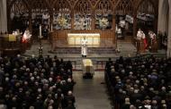 Realizan servicios funerarios de ex primera dama Barbara Bush
