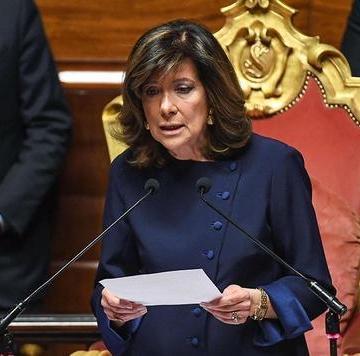 Recae en presidenta de Senado tarea de formar gobierno en Italia
