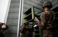 Coreas desmantelan altavoces de propaganda en la frontera