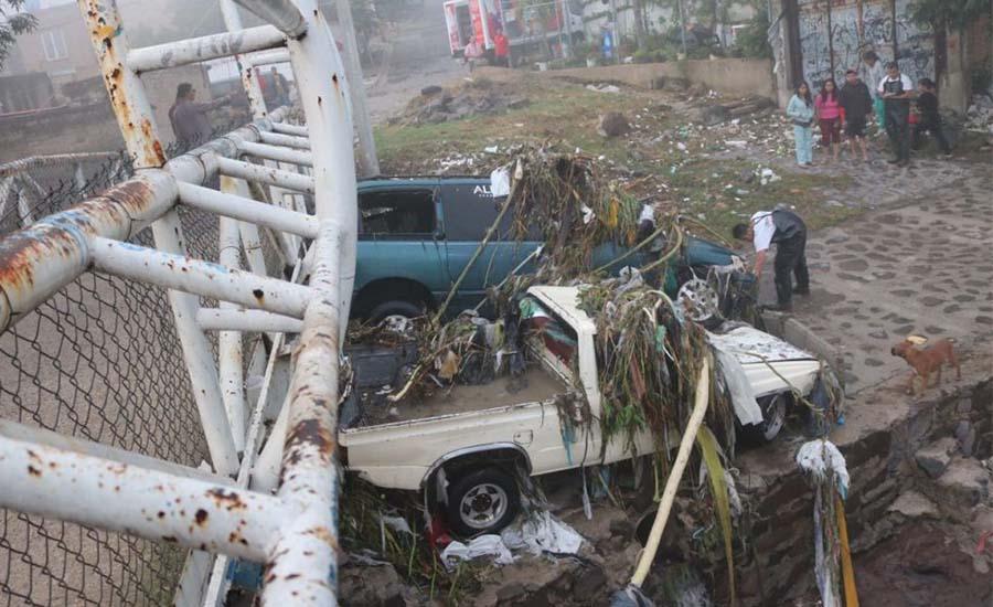 Aplican Plan DN-III-E en Guadalajara por inundaciones