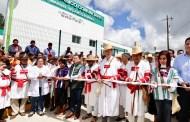 Servicios médicos a habitantes de Oxchuc