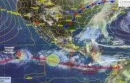 Ola de calor y lluvias persistirán en el país