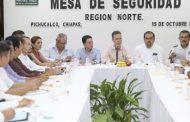 En Pichucalco, encabeza Velasco acciones de seguridad, salud y educación