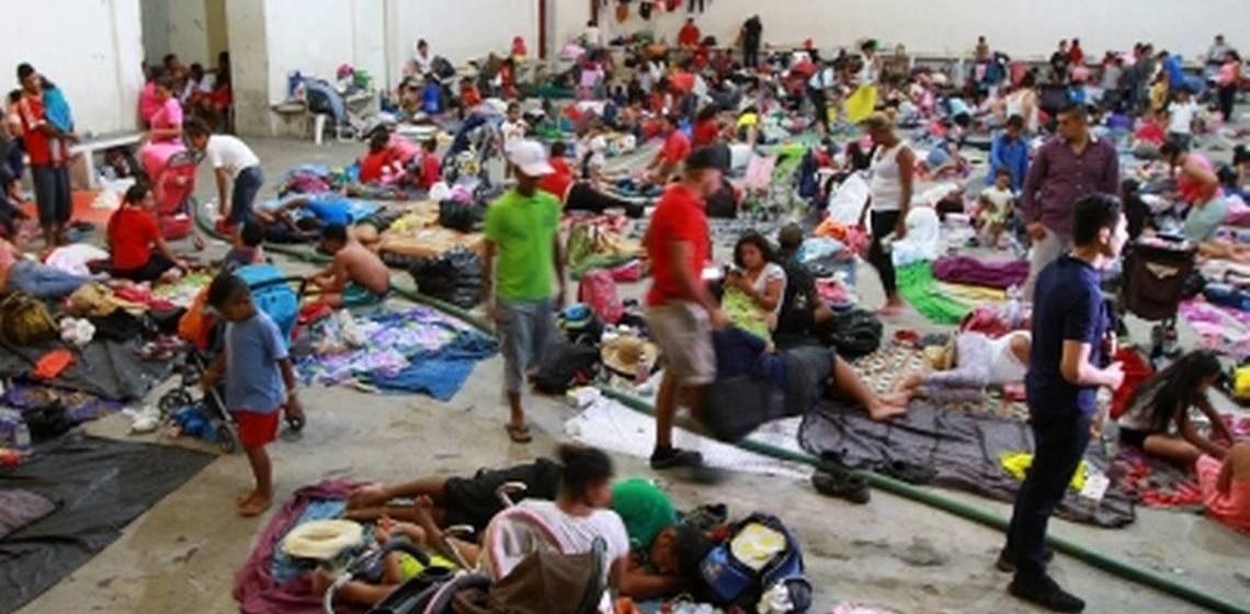 Cierre de los albergues para migrantes en Tapachula