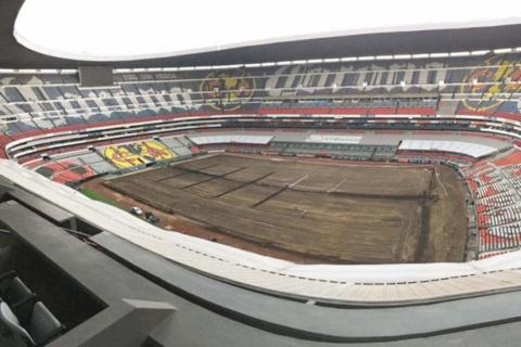 Cancelan partido de NFL en el Estadio Azteca
