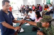 En el programa de canje de armas se han recibido 6 armas y 3 mil municiones