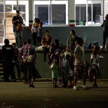 Escape, culpa de cubanos; el INM explicó el altercado