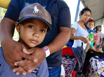 Autoridades recibirán en Ciudad Hidalgo a nueva caravana de migrantes