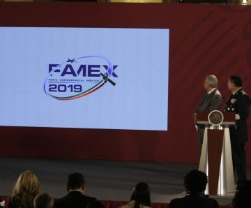 López Obrador inaugura este miércoles la Feria Aeroespacial México 2019