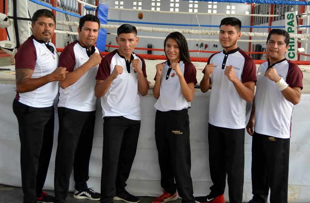 Viajan a Cancún las delegaciones de boxeo y de patines sobre ruedas
