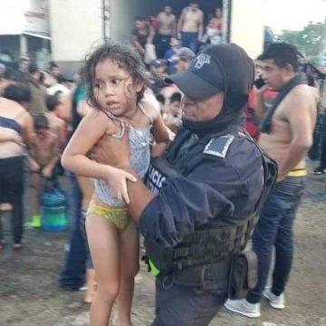 Rescatan a 134 migrantes en Veracruz, 71 de ellos son menores de edad