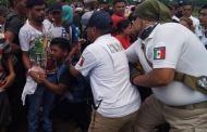 Ingresa nueva caravana de migrantes por la frontera sur de México