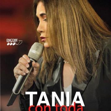 Tania con toda libertad en concierto en el Teatro de la Ciudad Emilio Rabasa