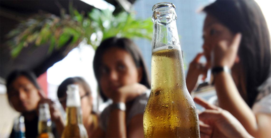 Consumo de alcohol en mujeres en incremento