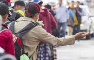 Llega nueva caravana de migrantes a frontera sur de México