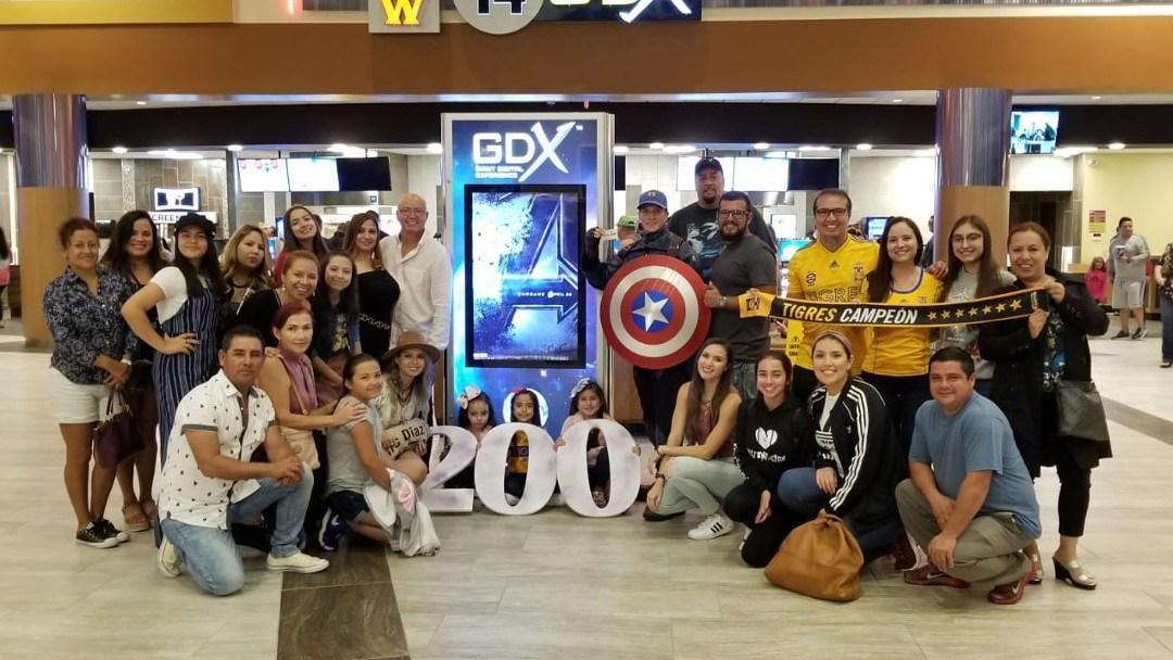 Este mexicano estableció récord al ver Avengers: Endgame más de 200 veces