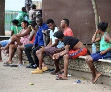 Tapachula es el trampolín para los haitianos