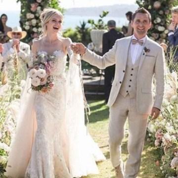 Matthew Bellamy, vocalista de Muse, se casa con Elle Evans